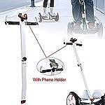 Linghuang-Scooter-Manubrio-Regolabile-con-Telefono-Supporto-Mount-T-Figura-Holder-per-2019-Ninebot-miniPROminiLITEninebot-minipro-Ninebot-S