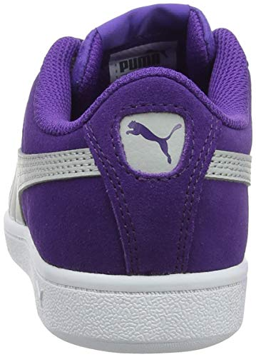 Vikky Violet 03 gray Puma Fille Violet Sneakers Violet Prism Ribbon Basses Jr gqxxSdwf