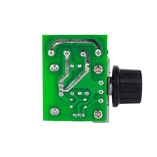 Speed Regulator TOPINCN Voltage Variator Temperature Adjustable motor speed regulator AC 50-220V 2000W