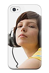 New Style Fashionable Iphone 4/4s Case Cover For Headphones Protective Case