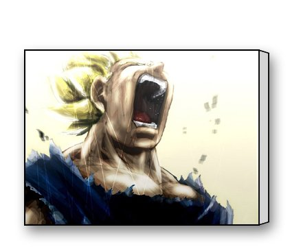 Vegeta Dragon Ball Z Canvas Prints for Modern Wall Art for Home Decoration