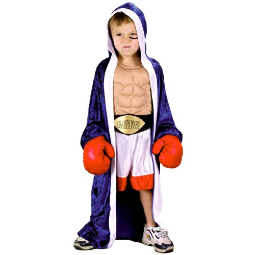 Li'l Champ Toddler Costume - Toddler (Halloween Boxing Gloves)