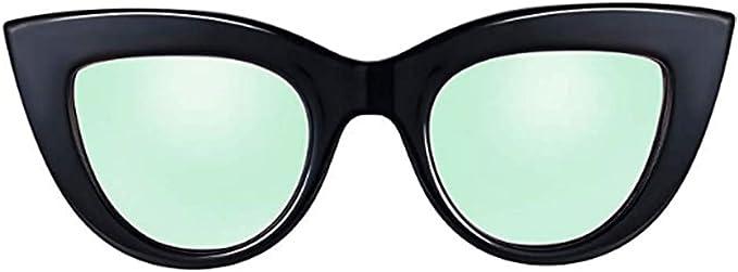 Ultra Skinny Red Transparent Cat Eye Sunglasses
