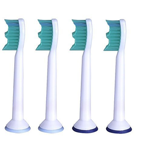Panaaz Replacement Electric Toothbrush Heads Compatible For Philips Sonicare HX 6014 (PACK Of 1,4 Pcs)
