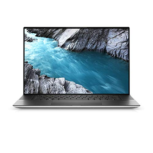 """Dell XPS 17 9700 Laptop 17.0"""" UHD+ (3840 x 2400) InfinityEdge Touch Display Intel Core i7-10875H 5.1 GHz,32GB Ram,1TB SSD, 6GB RTX 2060 Graphis,Finger Print,Eng-Arabic KB,Windows 10 Home,Silver"""