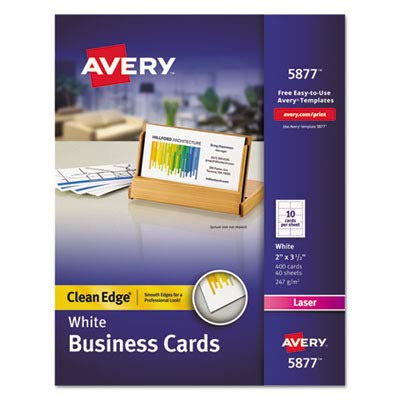 AVE5877 - Avery Clean Edge Business Card