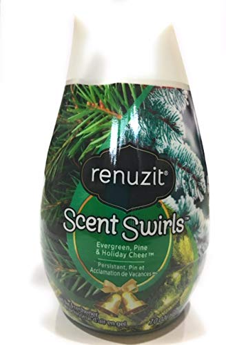 Renuzit Scent Swirls Evergreen, Pine & Holiday Cheer 7 oz Pack of 2