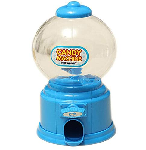 Candy Machine - Nocm Home Plastic Candy Machine Money Bank Gift Storage Box Presents Lover 7 Colors - Stand Candy Bulk Bank Parts Costume Claw Gumballs Commercial Multiple Globe Accessories -