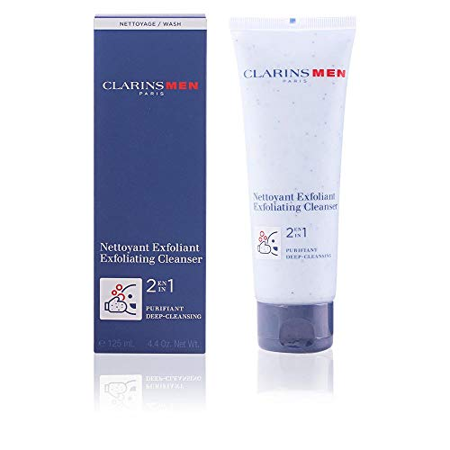 Clarins Men  2 in 1 Exfoliating Cleanser 4.4 oz.