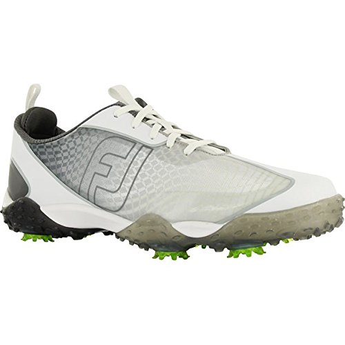 FootJoy Men's Freestyle 2.0-Previous Season Style Golf Shoes Silver 10 M, Charcoal/White, US from FootJoy