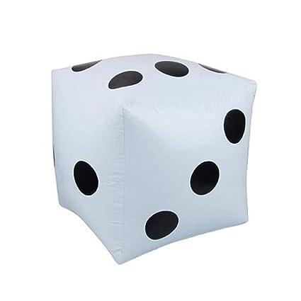 2pcs Inflables Gigantes Cubos Cubos Numericos Yard Juegos De Jardin