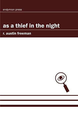book cover of As a Thief in the Night