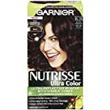 Garnier Nutrisse Ultra Color Creme Permanent Haircolor, BL26 Reflective Auburn Black 1 ea (Pack of 3)