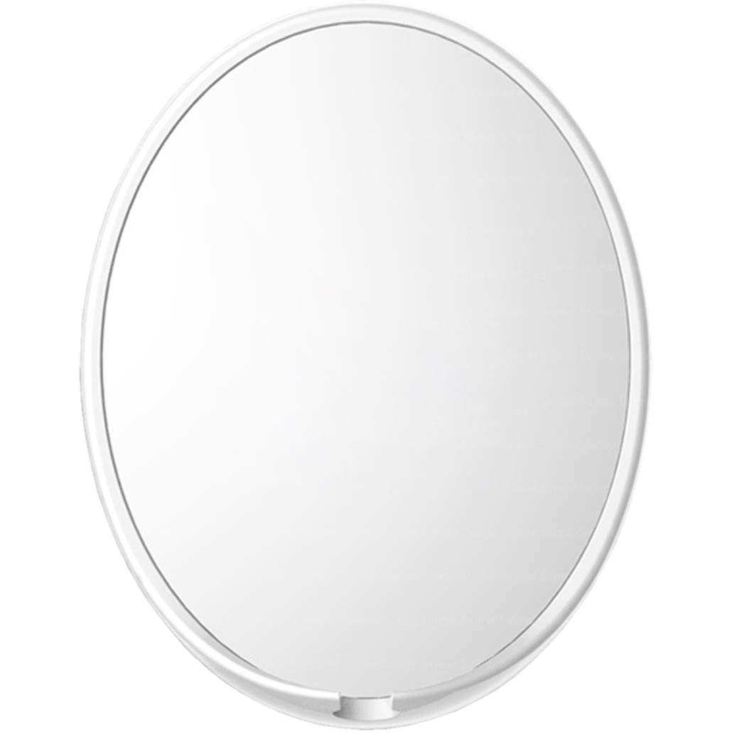 Fogless Shower Mirror with Razor Hook for No Fog Shaving, White, 9.7x7.6 inches Sewha