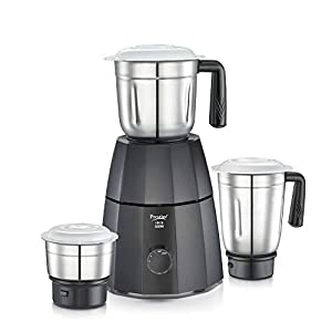 Prestige 42509 550W Mixer Grinder with 3 Jars, Black