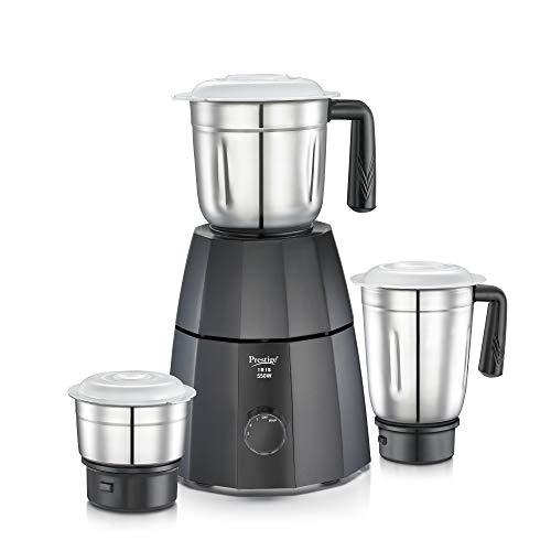 Prestige 42509 550W Mixer Grinder with 3 Jars, Black