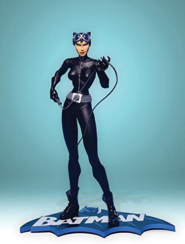 Amazon Com Cat Woman Hush Figure Jim Lee Batman Dc Catwoman Toys Games