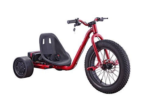 Go-Bowen Electric Drift Trike, 20 Fat Tire (Red)