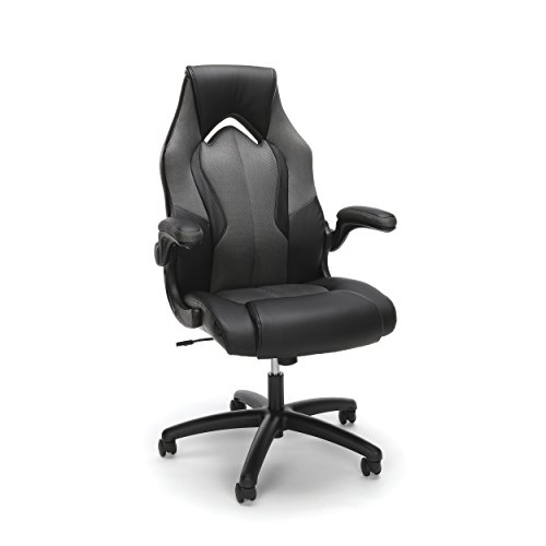 OFM Essentials Collection High-Back Racing Style Bonded Leather Gaming Chair