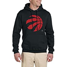 NBA Toronto Raptors Red New Circle Logo Hoodie