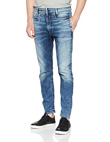 Uomo Skinny Blu Aged Jeans G medium star Raw wCSInAq