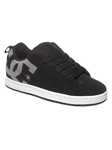 dc-mens-court-graffik-s-shoes-black-dark-used-65d