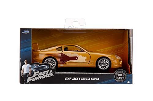 Slap Jack's Toyota Supra Gold Fast & Furious Movie 1/32 Diecast Model Car by Jada 99542
