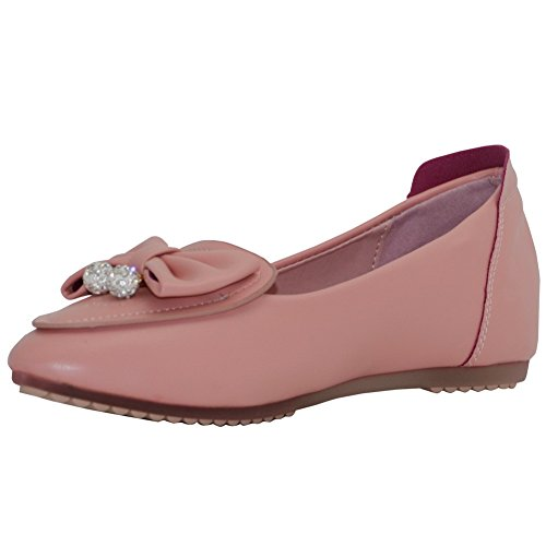 Aalardom Teen-toe-teen Teen Geen-hiel Stevige Pu Pu-schoenen-schoenen Roze-charmes