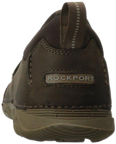 Rockport Rocsports Lt2 Moc Slip Piel Zapatos para Caminar Chocolate