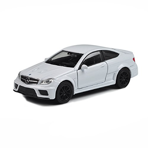 (Baidecor Diecast White AMG C63 1:36 Model Toy Car)