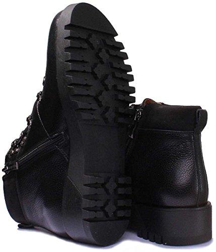 Justin Reece 8000 - Sandalias de vestir de Piel para mujer negro