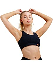 Dynami Women's Sports Bras - Breathable and Comfortable Women High Support Athletic Top - Racerback Sports Bra for Yoga, Gym Workout, Fitness Training, Indoor Outdoor