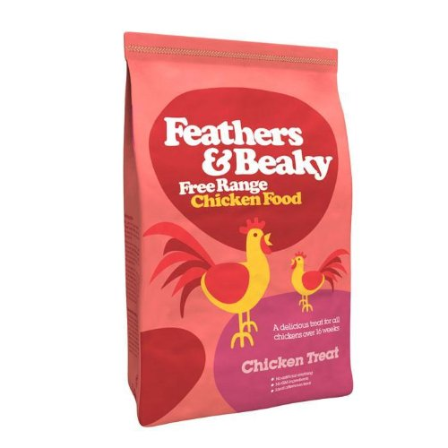 Spikes Feathers & Beaky Free Range Feed Chicken Treat 5kg
