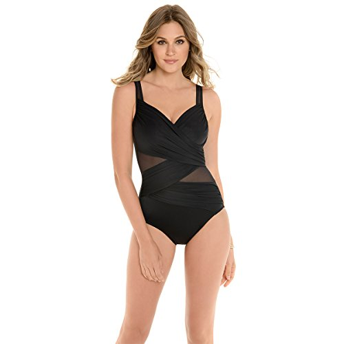 d93a5797f5797 Miraclesuit Women s Network Madero One-Piece Black 8 available in ...
