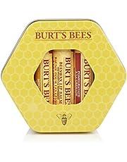 Burt's Bees Set De Regalo Hidratante De Tres Latas Burt'S Bees Con 1 Blsamo Labial Con Cera De Abejas Con Vitamina E Y Menta 90 g