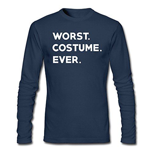ZWEN Men's Worst Costume Ever Long Sleeve (Occupation Costumes Ideas)