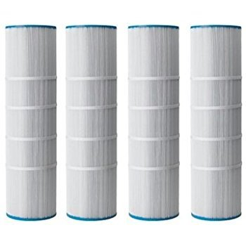 Guardian Pool Hot Tub Spa Filter 4 Pack Replaces: Pleatco PCC105 Unicel C-7471 Filbur FC-1977 American PENTAIR Waterway ()