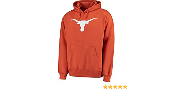 Amazon.com : 289c Texas Longhorns Mens Tx. Orange Silhouette Synthetic Poly Hoodie Sweatshirt : Clothing