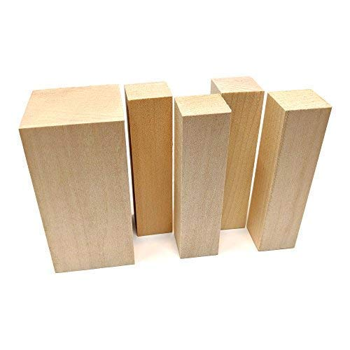 Beginner's Blocks Wood Carving Kit - Made in the USA