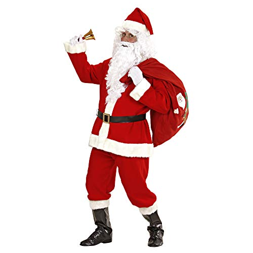 (Santa Suit Super Deluxe Costume For Father Christmas Fancy)