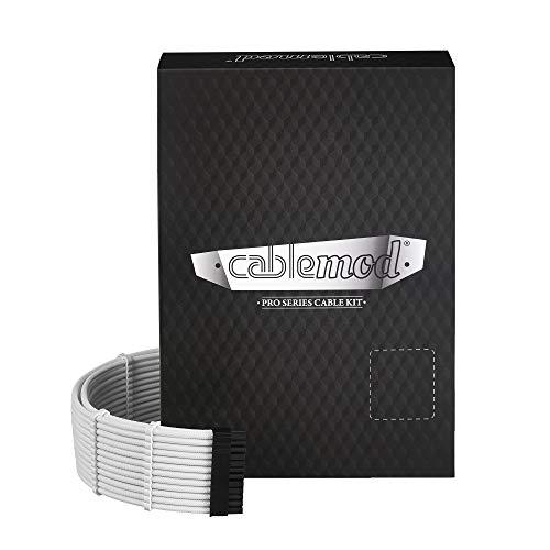 (CableMod PRO ModMesh C-Series RMi & RMX Cable Kit - White)
