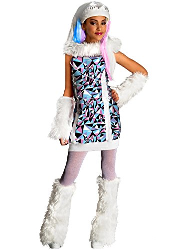 Monster High Abbey Bominable Costume - (Monster High For Girls)