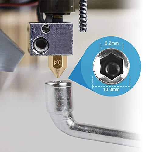 Juego de 23 puntas y kit de limpieza para impresora 3D, acero ...