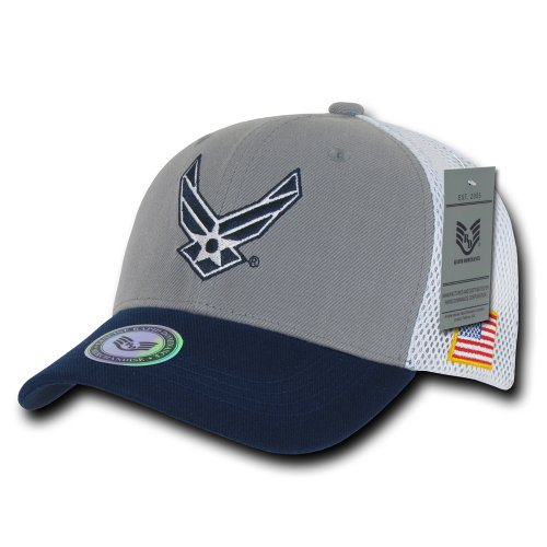 Rapiddominance Air Force Deluxe Mesh Military Cap -
