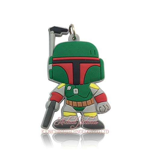 Amazon.com: Hot 20pcs Cool Star Wars PVC Pendant Accessories ...