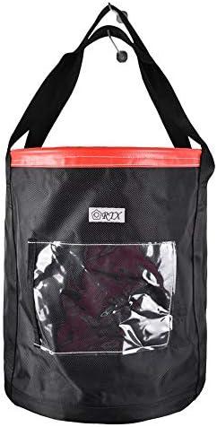 荷揚げバケツ リフトバッグ 巾着付き 底面厚鉄板入り 最大荷重100KG Φ35cm*H40cm
