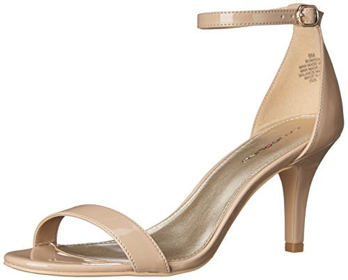 Bandolino Women's Madia Dress Sandal, Cafe Latte, 8.5 M US (Heel Leather Sandal)
