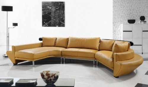 Vig Furniture Jupiter White Sectional Sofa