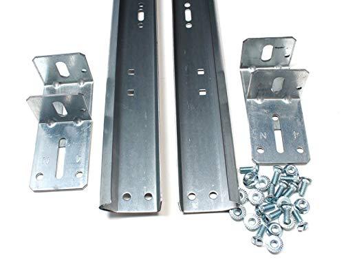 Garage Door Track for 7' High Door - Pair of Vertical Sections Length: 76