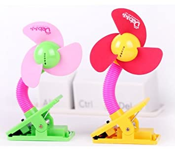 New High Quality Baby Stroller//Jogger Safety Clip-on Fan